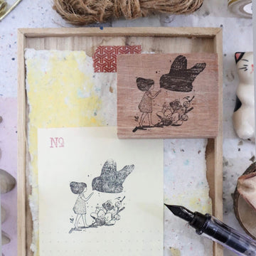 Black Milk Project rubber stamp - Bird-Charm