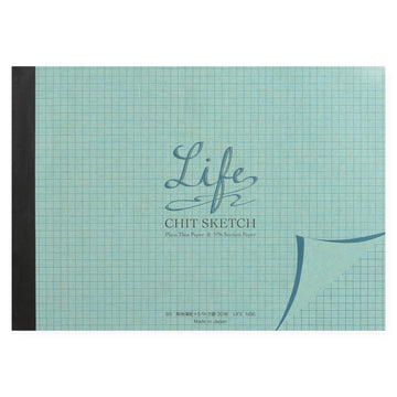 Life Chit Sketch/ plain thin paper & 5mm section paper