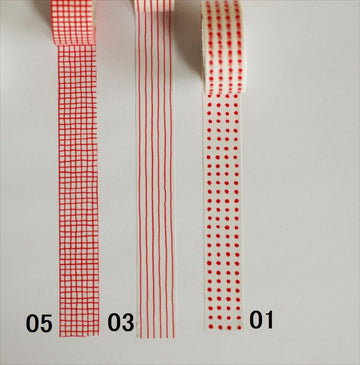 Classiky Mitsou Masking Tape (Red)