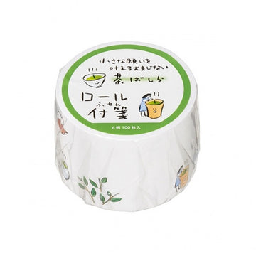 Maruai Omajinai washi roll sticker notes - Chabashira