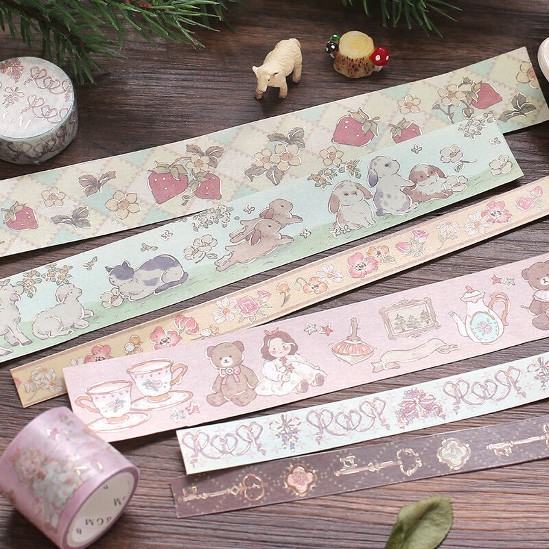 "BGM ""Fairy tale"" Washi Tape"