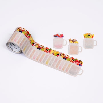 Bande Drink washi roll sticker