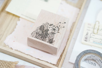 (Pre-order) Black Milk Project Rubber Stamp - Secret Garden