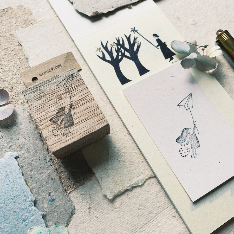 Black Milk Project Rubber Stamp - Wanderlust