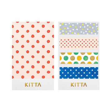 Kitta Basic washi tape - Dot 2