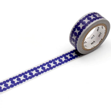 MT Ladder Dot Blue Washi Masking Tape