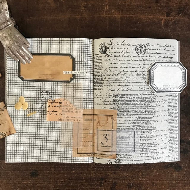 LAMP X PAPERI VINTAGE COLLAGE NOTEBOOK