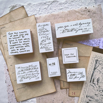 B.Book Stay with me Rubber Stamps