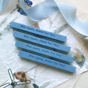 Sky blue Sealing Wax