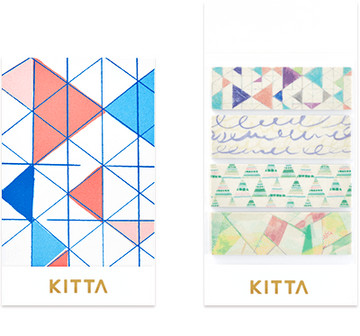 Kitta Basic washi tape - Phantom