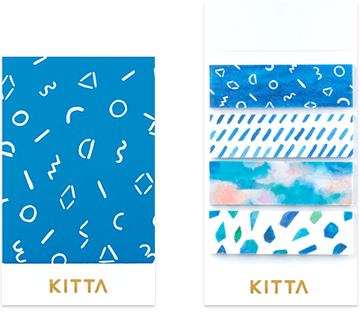 Kitta Basic washi tape - Vidro