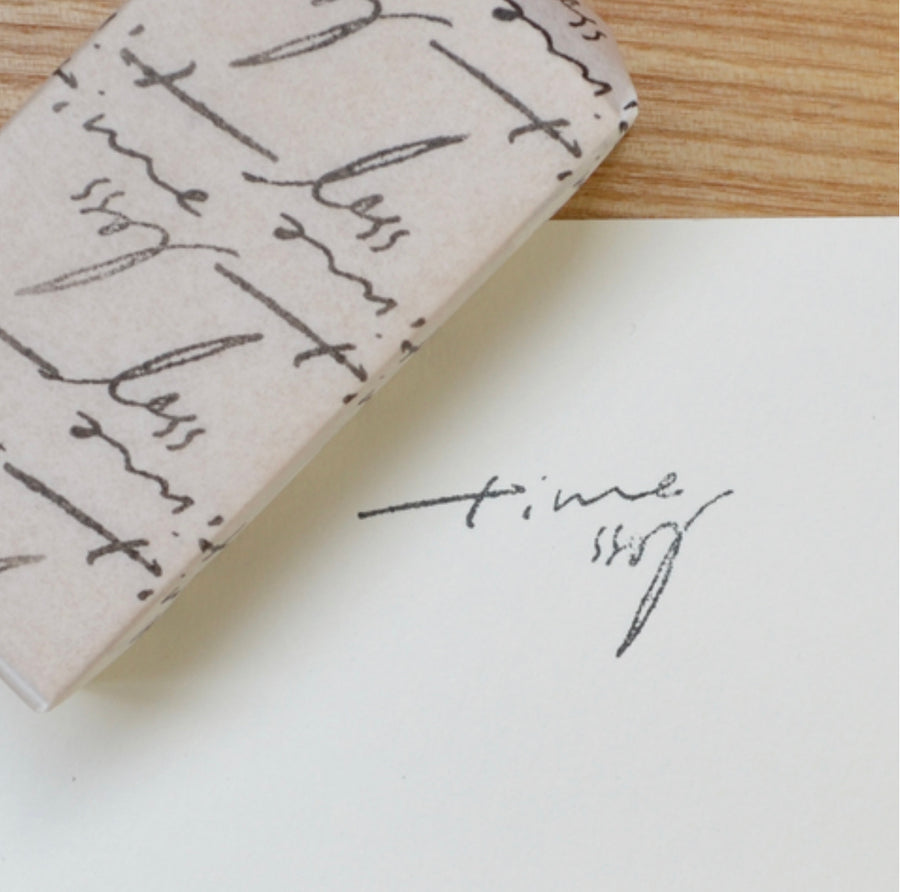 Monokoto x Hase Rubber Stamps - Timeless