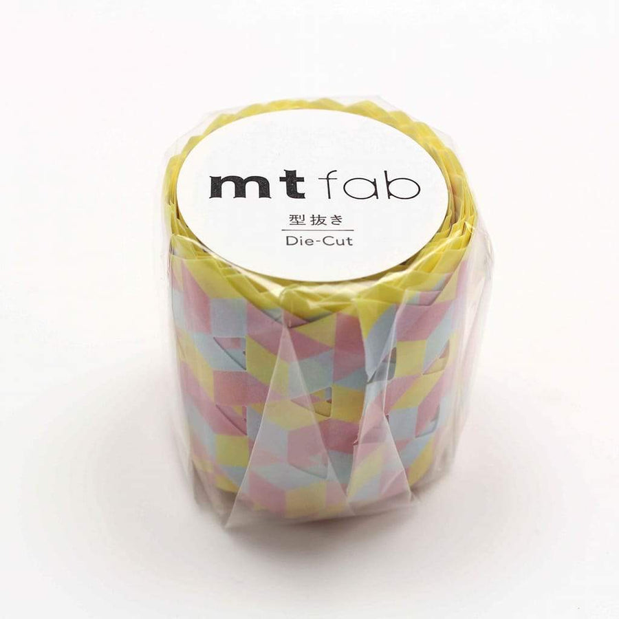 MT Fab Washi Tape - Cube Pattern