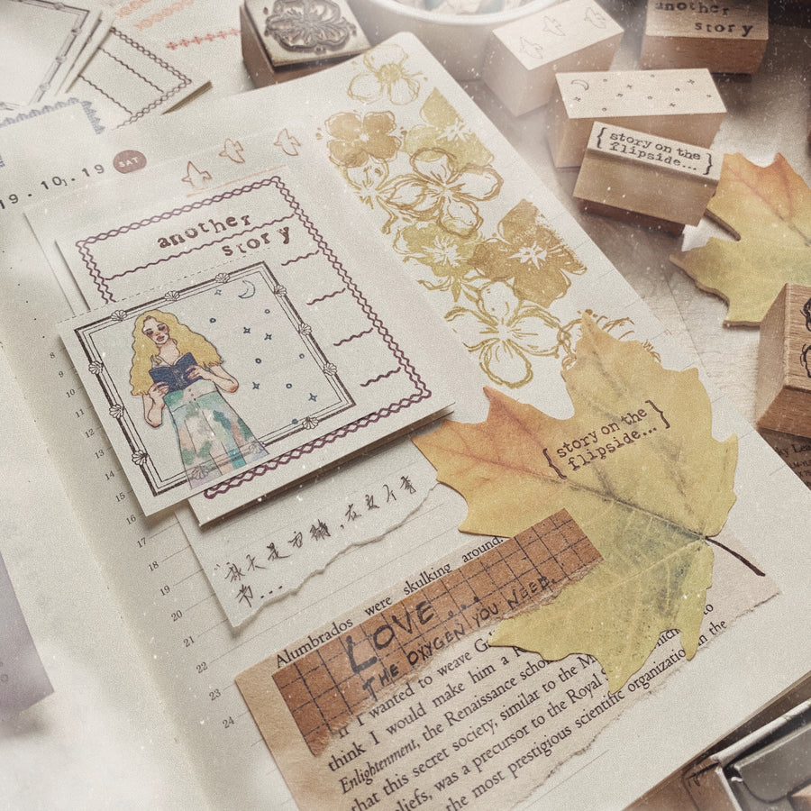 Appree Maple Sticky Leaf Memo Note