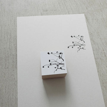 YOHAKU Original rubber stamp - Triadica sebifera
