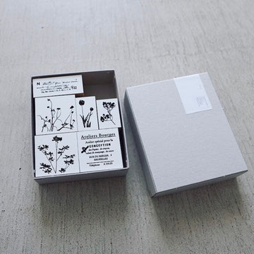 YOHAKU Original rubber stamp set
