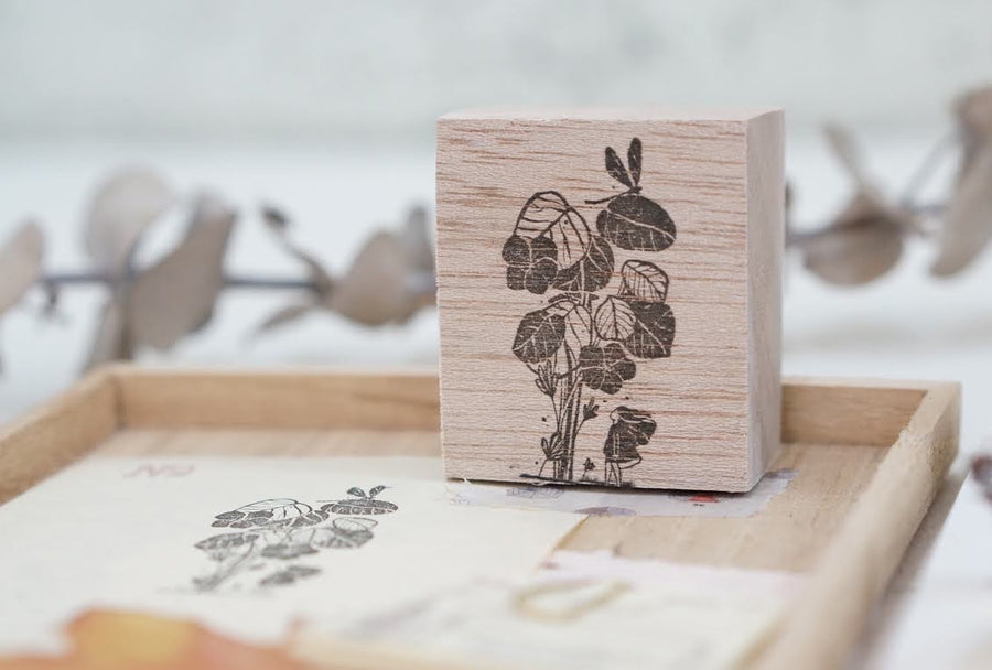 Black Milk Project Rubber Stamp - Dragnfly Bush