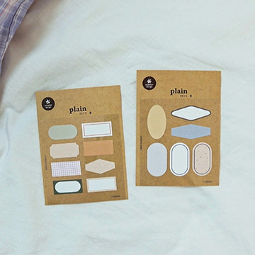 Suatelier Label Sticker Sheet