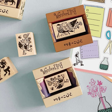 Elf Around stamps 切手のこびと Wonderful Series II