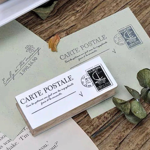 B.Book Rubber Stamps - Postage