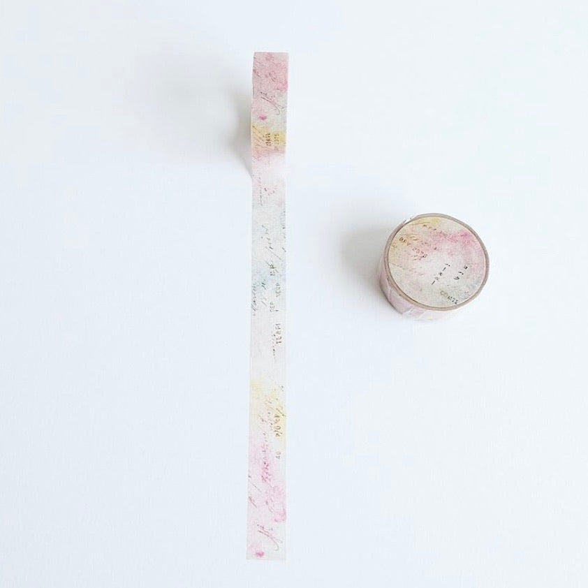 YOHAKUヨハク Collage Washi Tape - 070 harmony