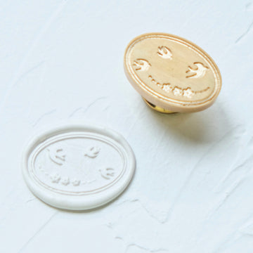 Feygu studio swallows wax seal stamp