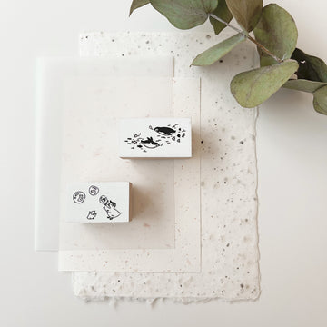 B.Book Rubber Stamps - animals