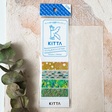 Kitta Transparent tape - Mountain belt