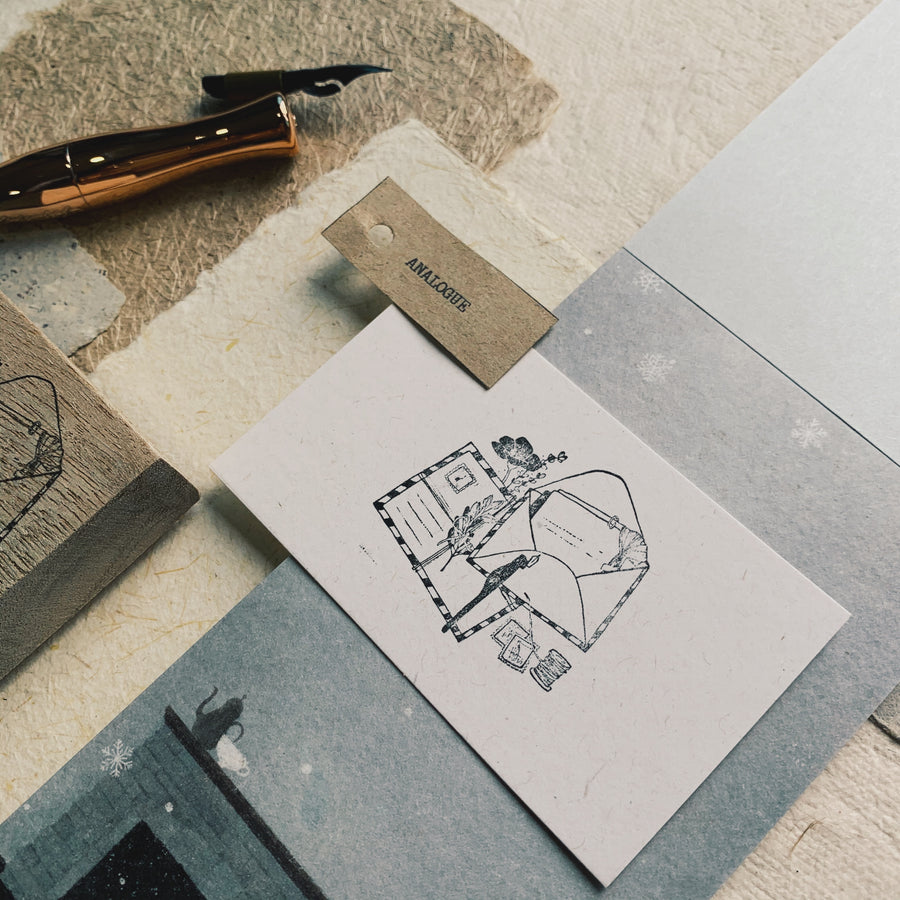 Black Milk Project Rubber Stamp - Analogue