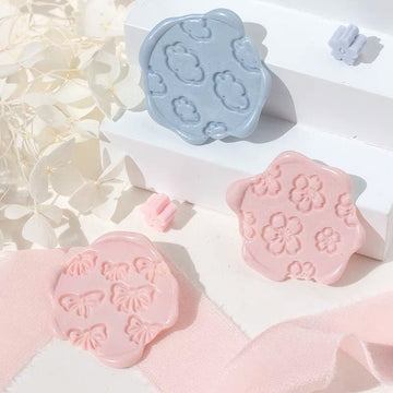 Spring wax seal stamps