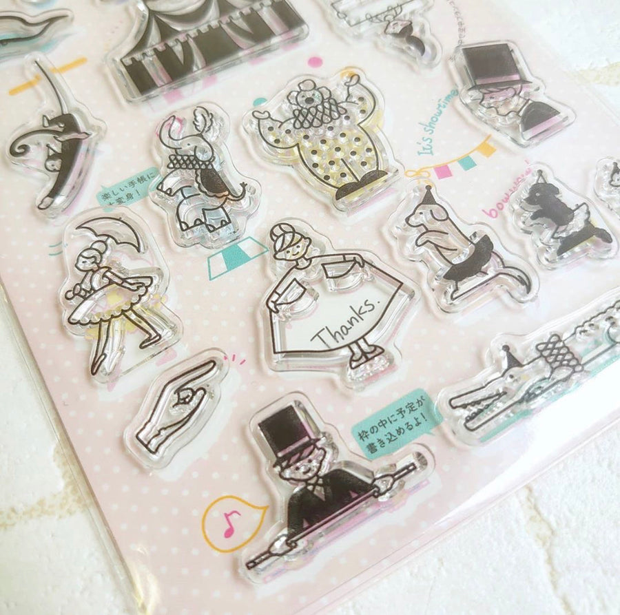 World Craft Clear Stamp - circus