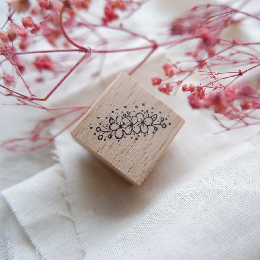 Laabiri Corsage rubber stamp