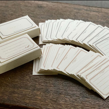 Oeda letterpress Frame card box