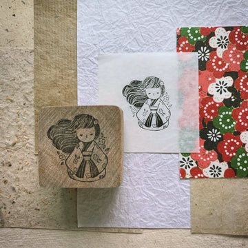 Black Milk Project Rubber Stamp - Miko