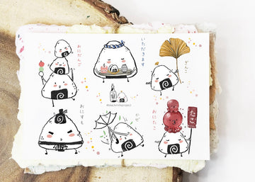 Black Milk Project mini sticker sheets - Origiri
