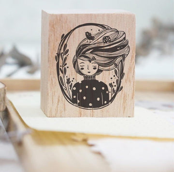 ( Pre-order) Black Milk Project Rubber Stamp - Raven