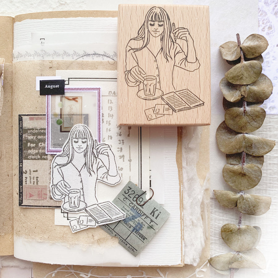 Journal Pages x Windry Ramadhina Everyday girls rubber stamp