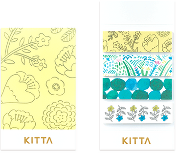 Kitta Basic washi tape - Plants
