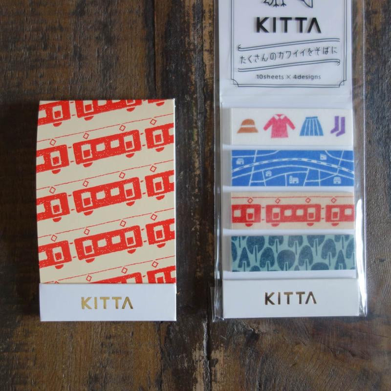 Kitta Basic washi tape - Odekake