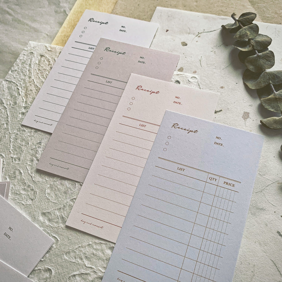 Daynmoment Receipt memo paper (Large)