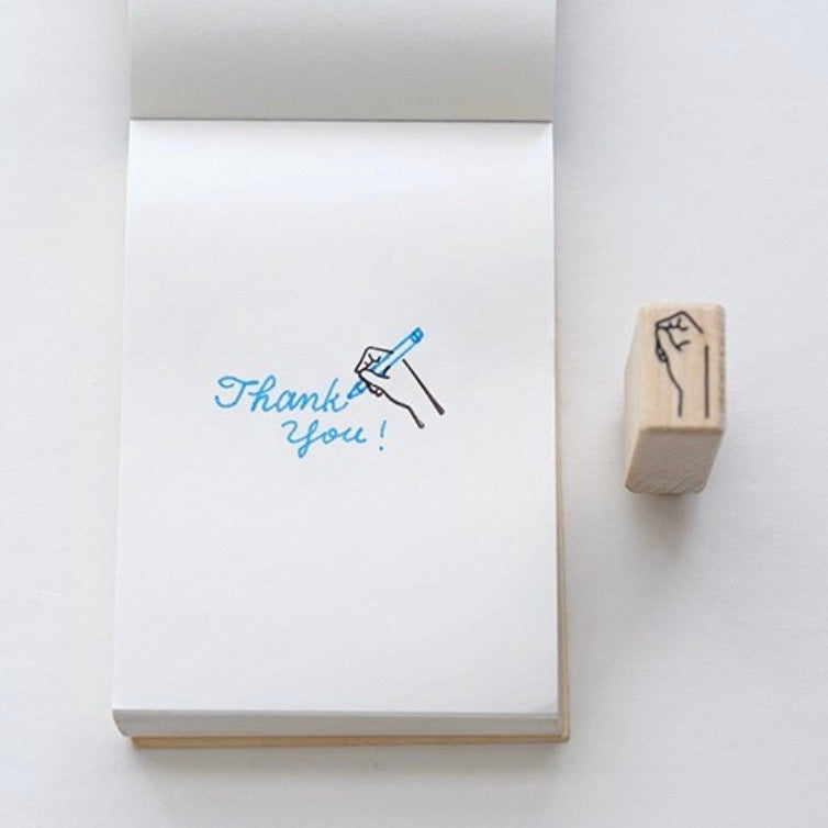 Plain Stationery Handy Rubber Stamp