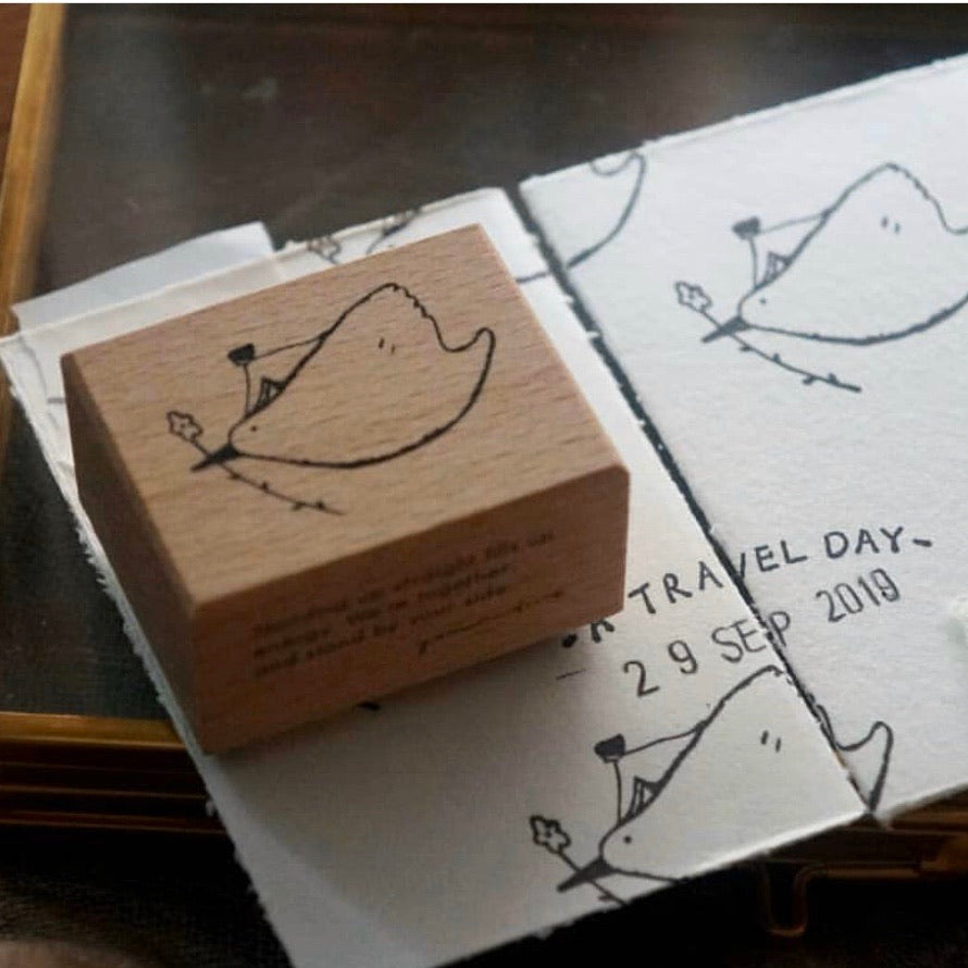 Yamadoro Rubber Stamp - Together