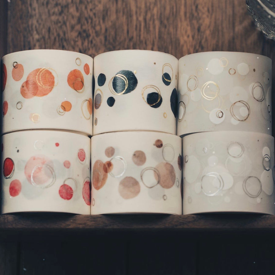 Modaizhi Bokeh washi tapes