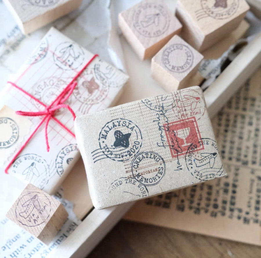 Kurukynki Postal Mark Rubber Stamps