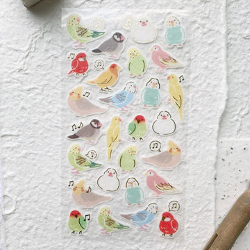 Wanowa Parakeet Sticker Sheet