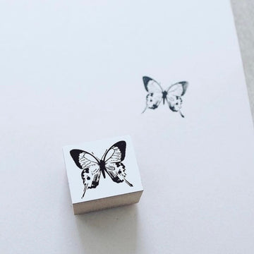 YOHAKU Rubber Stamp - Butterfly