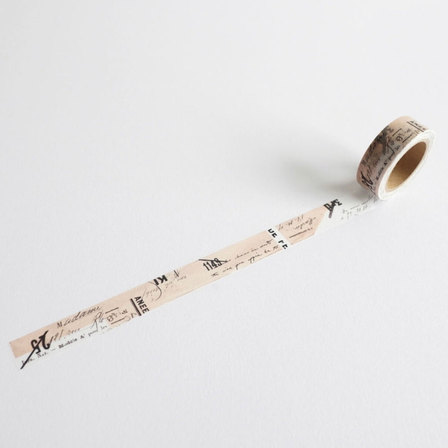 YOHAKUヨハク Collage Washi Tape - 071 journal