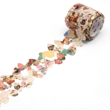 MT Fab Washi Tape Retro Paper Butterfly