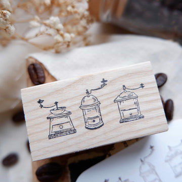 Laabiri Coffee mills rubber stamp