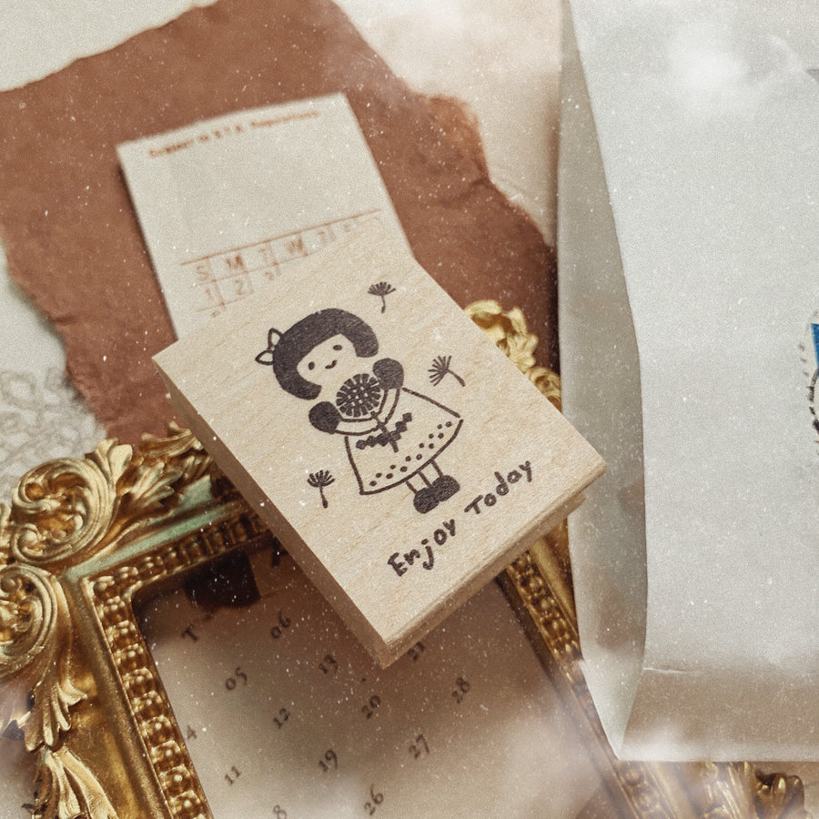 Journalpages x Hankodori ME-TIME series Rubber Stamps